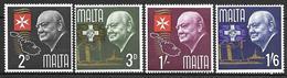 Malta 1966 - Winston Churchill - Malta