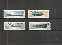 Chine - Transports ( 2323/2326 XXX -MNH) - 1949 - ... People's Republic
