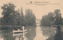 CPA - Belgique - Hoegaarden - Hougaerde - Pensionnat Du Val Virginal - Hoegaarden