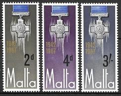 Malta 1967 - 25th Anniversary Of The George Cross - Malta