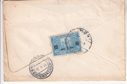 J---BRIEF  LJUBLJANA-JESENICE  1924 - Slovenia