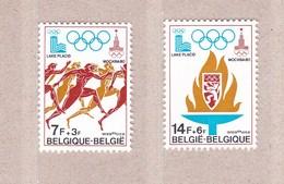1978 Nr 1915-16** Zonder Scharnier.Olympische Spelen,zegels Blok 53. - Belgique
