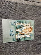 290/ ALPHABET DES ANGELOT  GAUFREES M - Fancy Cards