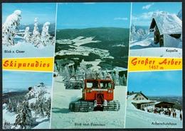 C1208 - TOP Pistenbully Fahrzeug - Bayerischer Wald - Ansichtskarten