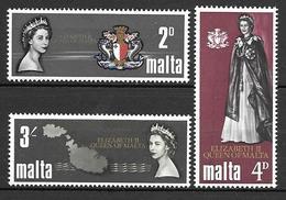 Malta 1967 - Visit Of The Queen Elizabeth II - Malta