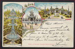 Postkaart Van Tervueren.Jardin De Sculpture , Jardin Des Colonies Met 5 X Nr. 53 + Stempel LIERNU ; Staat Zie 2 Scans ! - 1893-1907 Armoiries