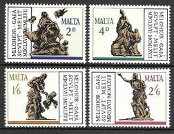 Malta 1967 - Sculptures By Gafa - Malta