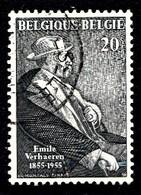 Belqique 1955  Mi.Nr: 1016 Geburtstag Von Emile Verhaeren Oblitèré / Used / Gebruikt - Belgique