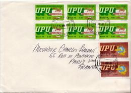 Postal History Cover: Brazil Stamps On Cover - U.P.U.