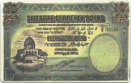Palestine - Paltel (Chip) - Banknote Palestian Pound, 02.1999, Chip Oberthur, 10U, 125.000ex, Used - Palestina