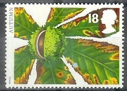 1993 18 Pence Horse Chestnut No Gum - 1952-.... (Elizabeth II)