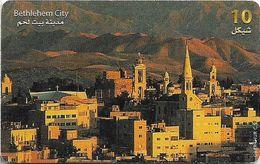 Palestine - Paltel (Chip) - Bethlehem City, 10.1999, Chip Oberthur, 10U, 100.000ex, Used - Palestine