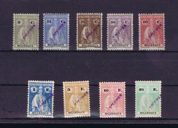 Mozambique Ceres 1926 (9v.) SPECIMEN In Diagonal Portugal #8048 - Mozambique