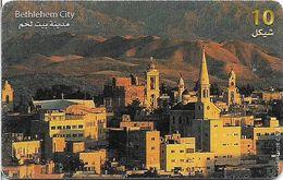 Palestine - Paltel (Chip) - Bethlehem City, 01.2000, Chip Oberthur, 10U, 275.000ex, Used - Palestine