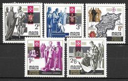 Malta 1966  - 400th Anniversary Of Valetta - Malta