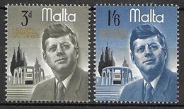 Malta 1966 - President John F. Kennedy - Malta