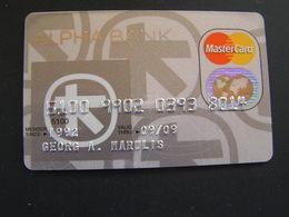 GREECE ALPHA BANK. - Geldkarten (Ablauf Min. 10 Jahre)
