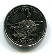 1999 Canada Commemorative 25 Cent Coin - Canada