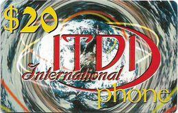 Palestine - ITDI - 20$ International Phone, Prepaid 20$, Mint/Unscratched - Palestina