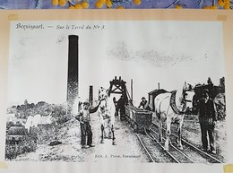 BERNISSART SUR LE TERRIL NUMERO 3  JOLIE PHOTO Sur  Papier 30cm/21cm - Bernissart