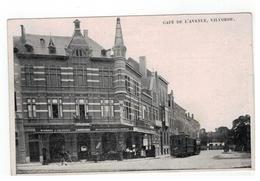 VILVORDE.  CAFE DE L'AVENUE 1910 - Vilvoorde