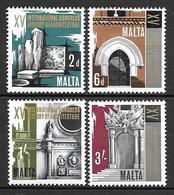 Malta 1967 - 15th Congress Of The History Of Arhitecture - Malta