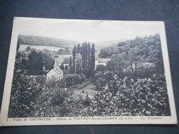 """CPA - Vallée De Chevreuse """"Abbaye De PORT ROYAL DES CHAMPS - Vue D'ensemble - Magny-les-Hameaux"""
