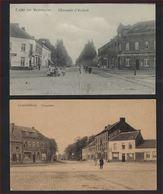FELDPOST 2 Postkaarten Van LEOPOLDSBURG / CAMP DE BEVERLOO ; PRINZENPLATZ En CHAUSSEE D'ECHTEL ; Staat Zie 2 Scans ! - Leopoldsburg (Camp De Beverloo)
