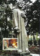 Rodange-Fonderie - Monument De St. Eloi,Patron Des Métallurgistes   Photo  Colette Josy   15.3.2005 - Cartes Maximum