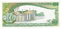 MALDIVES P. 14a 100 R 1983 UNC - Maldives