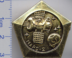 21-14 Space Soviet Russian Pin. Interplanetary Station MARS-3. 1971 - Space