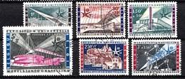 Belqique 1958  Mi.Nr: 1094-1099 Weltausstellung Im Brüssel  Oblitèré / Used / Gebruikt - Belgique