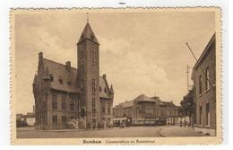 Bornem Bornhem  Gemeentehuis En Boomstraat - Bornem