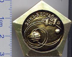 21-15 Space Russian Pin. ZOND-5,-6 Soviet Moon Program 1968 - Space