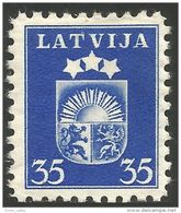 562 Latvia 1938 35c Armoiries Vidzeme Latgale Kurzeme Arms Lion Lowe MH * Neuf CH (LAT-119) - Stamps