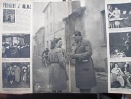 FONTENAY LE COMTE SIMENON  A LA FETE DE CHARITE JEAN TISSIER ( Paru Dans LA SEMAINE) - Newspapers
