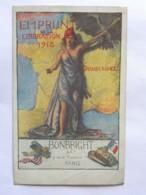CP Illustrateur B Chavannaz - Emprunt De La Libération 1918 - Bonbricht Et Cie , 9 Rue Saint Florentin Paris - Illustrateurs & Photographes