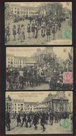 3 Postkaarten Van MECHELEN / MALINES , PRAALTREIN / CAVALCADE ; Staat Zie 2 Scans ! - 1915-1920 Albert I