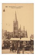 Jette-Saint-Pierre  -  Le Marché Et L'église De La Madeleine - Jette