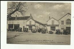 70 - Haute Saone - Vesoul - Agence Renault - Garage Grispoux - 21 Place Du Champ De Foire - - Vesoul