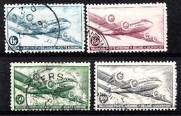 Belqique 1946 Mi.Nr: 751-754 Flugpostmarken  Oblitèré / Used / Gebruikt - België