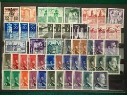 Poland - Generalgouvernement - Collection 117 Timbres - 1939-44: 2ème Guerre Mondiale