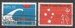 Australia 1970. Scott #472 (U) EXPO 70 Intl. Exhib, Osaka, Japan ** Complet Set - 1966-79 Elizabeth II