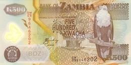 ZAMBIE 500 KWACHA 2008 P-43f NEUF [ZM145f] - Zambia