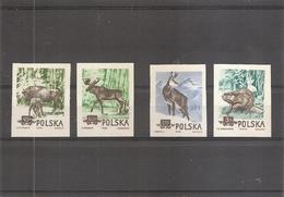 Pologne - Faune ( 785/788 Non Dentelés XXX -MNH) - Nuovi