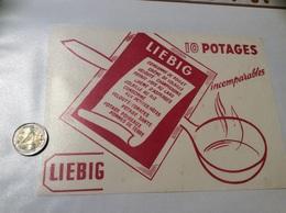 Buvard «LIEBIG 10 POTAGES Incomparables» - Sopas & Salsas