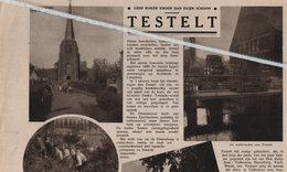 TESTELT..1934.. GEEN RIJKER SCHOON DAN EIGEN SCHOON. - Documentos Antiguos