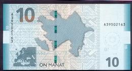 Azerbaijan 10 Manat 2018 UNC P- NEW - Azerbaïjan