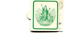 """PUBBLICITA'_ADVERTISING_REKLAM-ETICHETTA Di CARTONE""""LA FONDIARIA ASSICURAZIONE"""" Vg 1974 X CREMONA-Original 100% /AN3- - Advertising"""