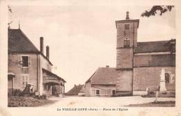 La Vieille Loye Canton Montbarrey église Monument Aux Morts Pub Byrrh - Autres Communes